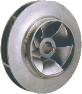 Lost Wax Micro-Cast Impeller