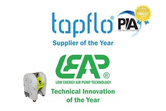 Tapflo UK have been nominated