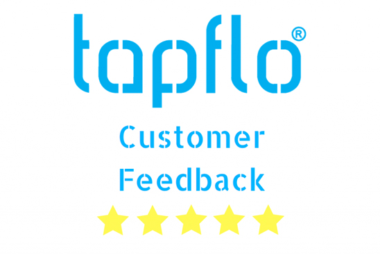 Tapflo UK 5 Star Feedback